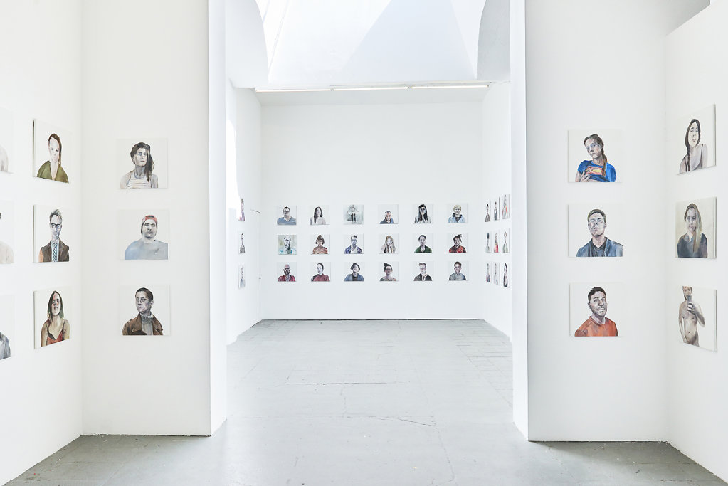 100 portraits of Tinder Project